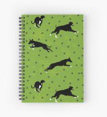 Tux and Kipper Spiral Notebook