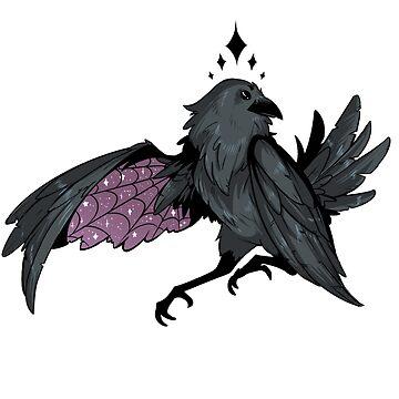 Goth Raven by squidbiscuit
