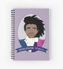 Cuaderno de espiral Bonjour, ¡todos!