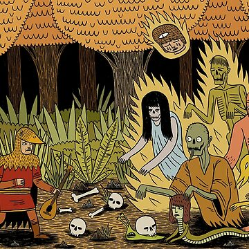 Woodland Ghosts by jackteagle