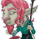 Caduceus Clay by lunarblaze