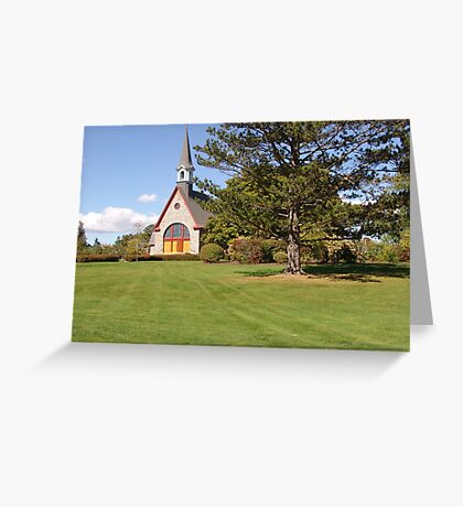Grand Pre Church Greeting Card