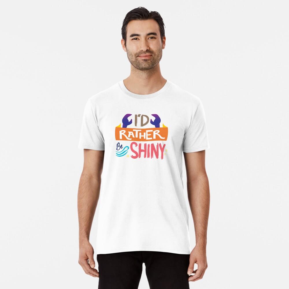 So glänzend Premium T-Shirt