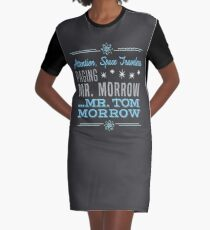 Paging Mr. Morrow Graphic T-Shirt Dress