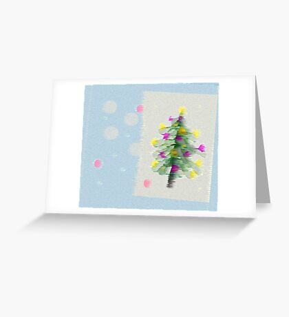Fleeting Christmas Greeting Card