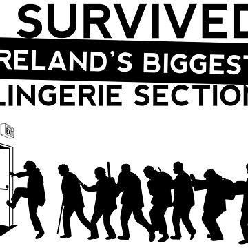 Padre Ted: sobreviví a la sección de lencería más grande de Irlanda de blurbox