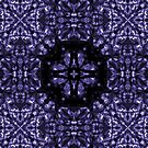 Purple Cosmic Cross by haymelter