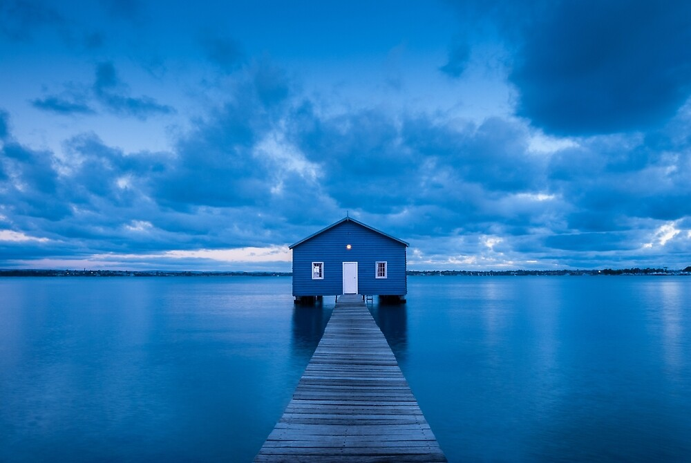 Matilda Bay Boatshed by Mark Eden