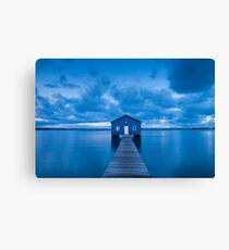Matilda Bay Boatshed Canvas Print