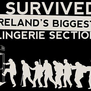 Padre Ted - sobreviví a la sección de lencería más grande de Irlanda de blurbox