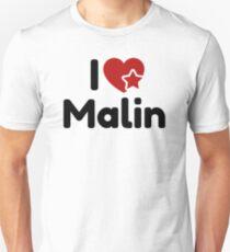 I love Malin, I heart Malin Soul-Mate Unisex T-Shirt