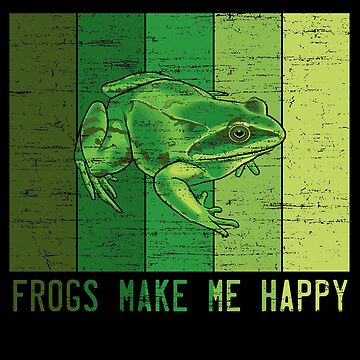 Frogs make me happy by S-p-a-c-e