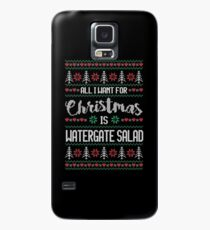 All I Want For Christmas Is Watergate Salad Ugly Christmas Sweater Case/Skin for Samsung Galaxy