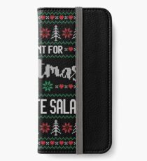 All I Want For Christmas Is Watergate Salad Ugly Christmas Sweater iPhone Wallet/Case/Skin