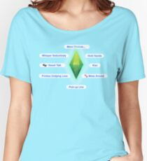 The Sims - Interactions Relaxed Fit T-Shirt