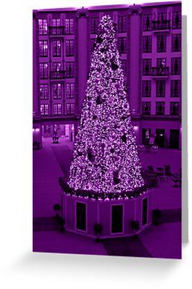 Christmas in Purple by Sandy Keeton