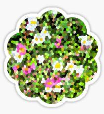 Fleur vitrail #1 Sticker