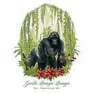 Gorilla Beringei Beringei by MariMansfield
