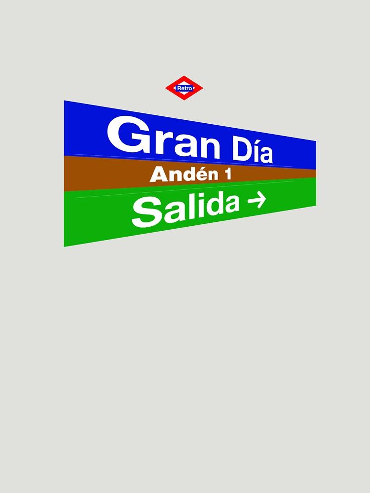 Gran Día, Madrid by redretro
