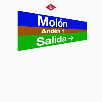 Molón, Madrid by redretro