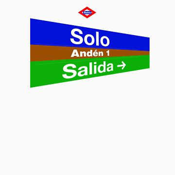 Solo, Madrid by redretro