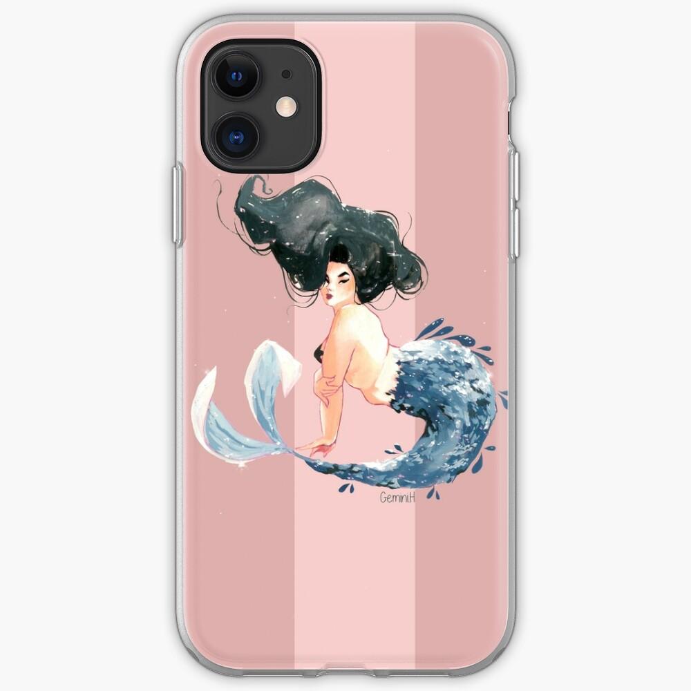 Blue lagoon iPhone Soft Case