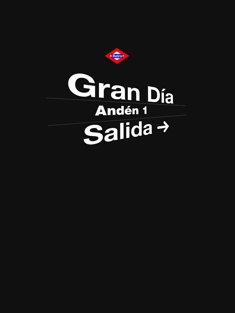 Gran Día, Madrid (Versión oscura) by redretro