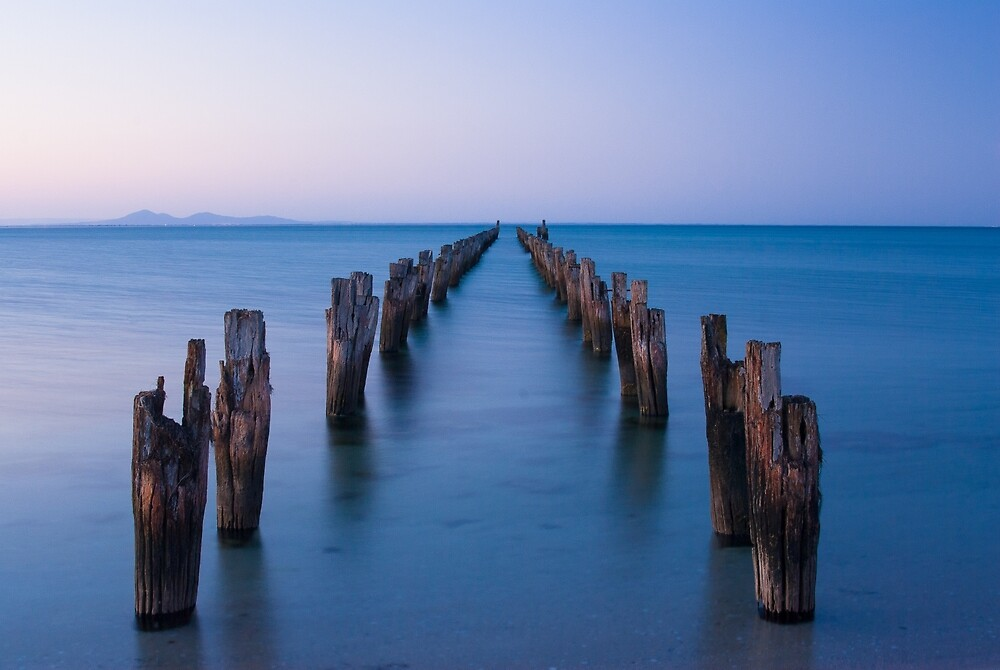Remians Of Jetty by Mark Eden