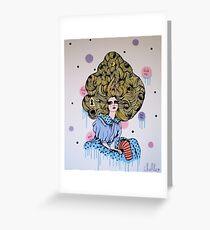 Alice Print Greeting Card