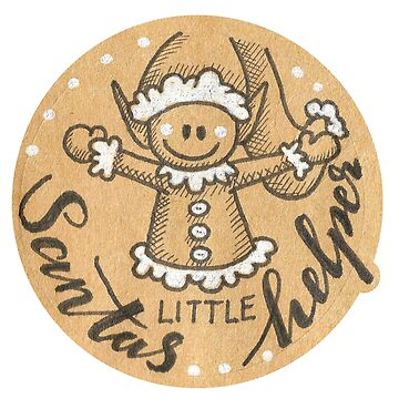 Santas little helper by DoughtycreARTiv
