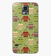 Merry Fair Isle Case/Skin for Samsung Galaxy