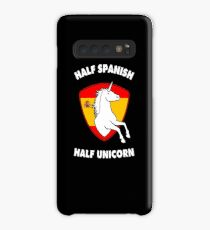 Half Spanish Half Unicorn Spain Gift for Women Girls Case/Skin for Samsung Galaxy
