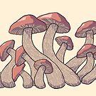 Mushrooms by MariMansfield