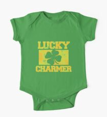 Lucky Charmer St. Patrick's Day  One Piece - Short Sleeve