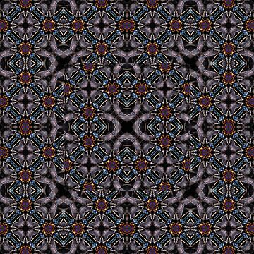 Chic Fractal Ornate Print Pattern by DFLCreative