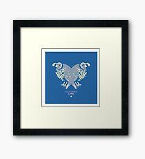 CA LOVE Framed Print