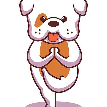 Yoga Pug by MrD-Shirts