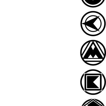 Ninja Coins by lazerwolfx