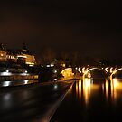 Bremgarten by night by Rosy Kueng Photography