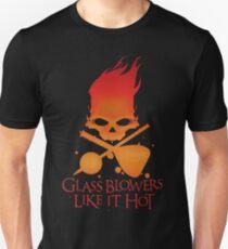 Glass Blowers Like it Hot Unisex T-Shirt
