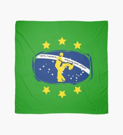 lets dance brazilian zouk flag color design Scarf