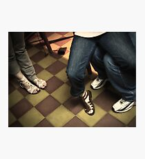 Body Language - A Decisive Moment Photographic Print