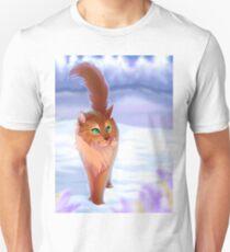 Feuer und Schnee Unisex T-Shirt