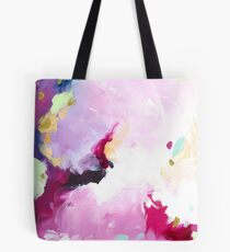 Leia - abstract acrylic painting Tasche