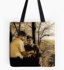 Joining The Band Of Brothers Tote Bag