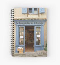 Cuaderno de espiral Blue bookshop