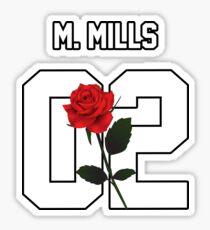 Max Mills - Rose Sticker
