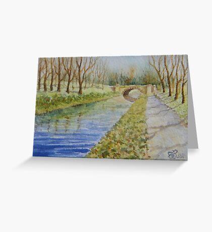 Miniature Series - A Bridge Too Far Greeting Card