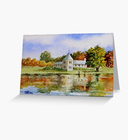 Miniature Series - April Splendour Greeting Card