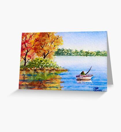 Miniature Series - A Season in Time Greeting Card